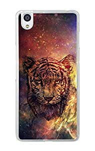 One Plus X Cover , Premium Quality Designer Printed 2D Transparent Lightweight Slim Matte Finish Hard Case Back Cover for One Plus X by Tamah