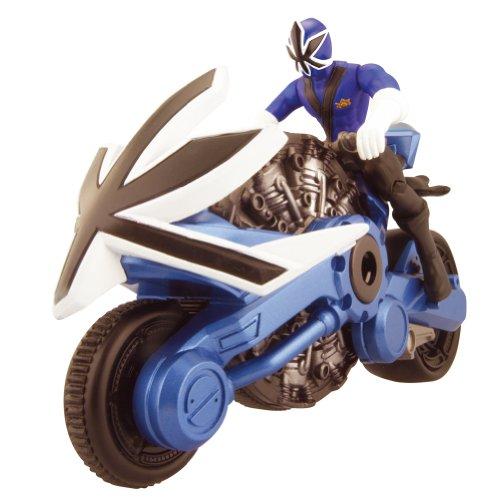 Power Rangers Samurai 31552 - Blaues Disc Cycle