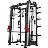 Gorilla Sports Smith Machine Machine avec Power Rack, Multi Station et Presse....