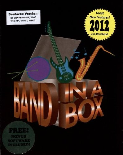 Band-in-a-Box Real Band 2012 Pro Band In A Box 2012