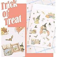 BRZM Party creative gifts 1 Pc Creative Halloween Theme Decorative Sticker Diary Album Planner Sticker Cartoon Cute Sticker