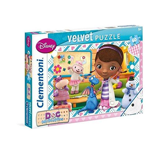 Disney - Puzzle, 60 Piezas, Efecto Suave, diseño Doctora de Juguetes (Clementoni 201167)