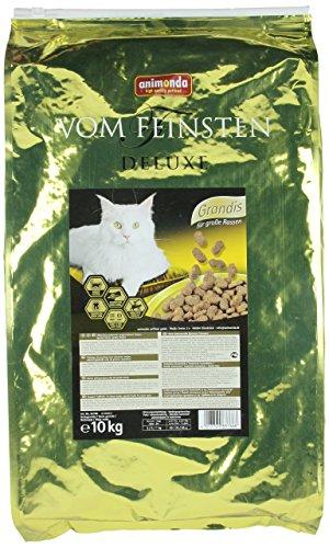 Animonda Vom Feinsten Deluxe Grandis, Trockenfutter für große Katzen, aus Geflügel, 10kg