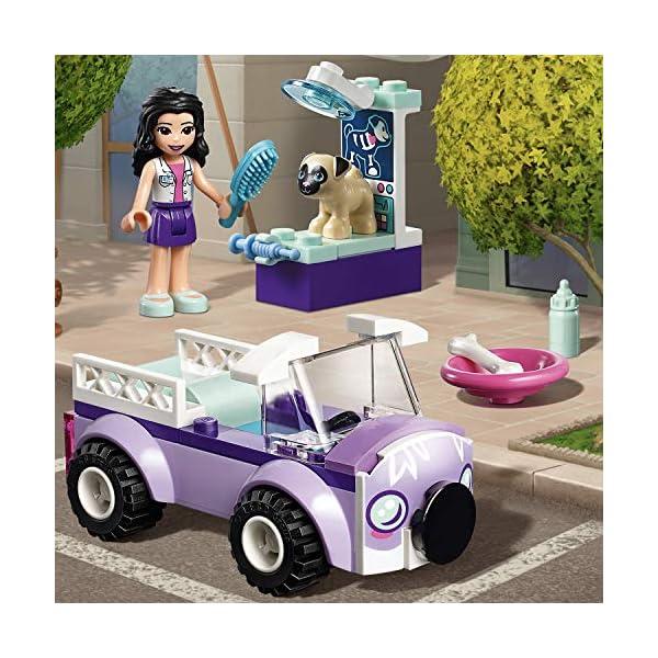 LEGO - Friends La clinica veterinaria mobile di Emma, con Mini-doll e Cane Inclusi, Kit Giocattolo per Bambini, Idea… 3 spesavip