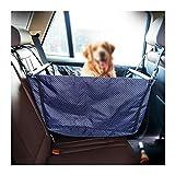 Strimm Autositzbezug Hundesitz Tragen Auto Sitzerhöhung für Kleine Mittlere Hunde Haustier bis 15kg, Wasserdicht und Atmungsa