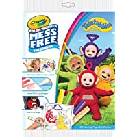 Crayola 75-2417.0054 - Teletubbies Toy - Colour Wonder Mess Free Colouring - 18 Pages and 5 Markers