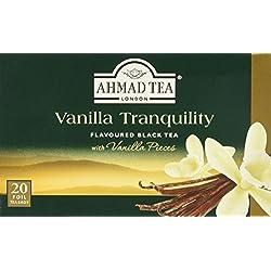 Ahmad Tea- Vanilla Tranquility Schwarzer Beutel- Tee 20 St. á 2 Gramm