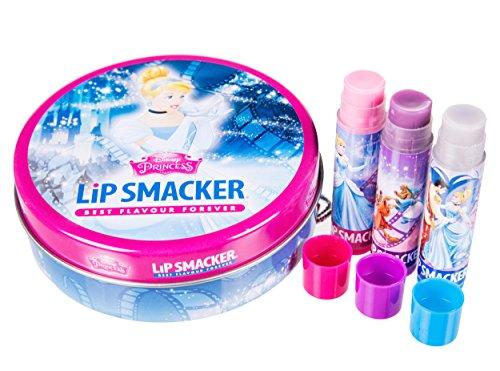 Lip Smacker Cendrillon Boite Métal 3 Baumes à Lèvres