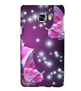 EagleHawk Designer 3D Printed Back Cover for Samsung Galaxy C7 - D893 :: Perfect Fit Designer Hard Case