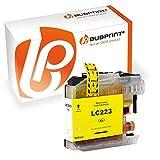 Bubprint Druckerpatrone kompatibel für Brother LC-223 LC-225 LC-227 für DCP-J4120DW DCP-J562DW MFC-J4420DW MFC-J4620DW MFC-J480DW MFC-J5320DW Gelb
