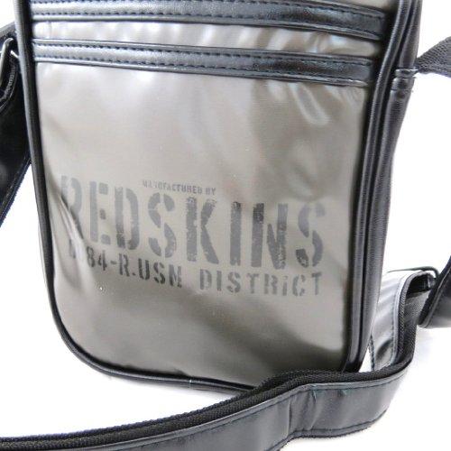 Bolso 'Redskins' gris.