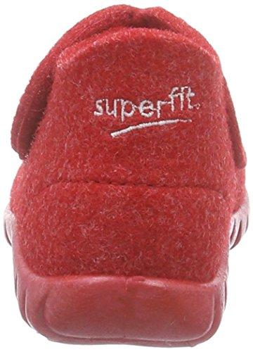 Superfit Happy, Chaussons hauts, non doublés fille Rouge - Rot (FIRE 70)