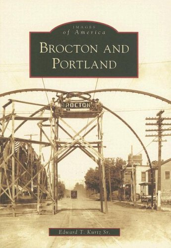 Brocton and Portland (Images of America) Middle Atlantic Sr-serie