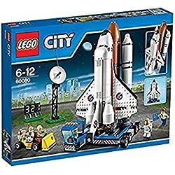 LEGO City - Puerto espacial, multicolor (60080)