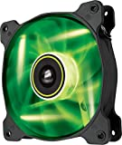 Corsair CO-9050022-WW Air Series SP120 LED 120mm  Low Noise High Pressure LED Fan Single Pack, Green