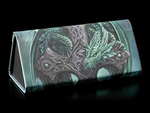 Fantasy Brillenetui mit Drachen-Motiv - Woodland Guardian | Hartschale, Hardcase, Motiv von Anne Stokes