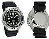 Profi Taucher Uhr m. Automatik Werk Saphir Glas Helium Ventil von Tauchmeister T0046 - 4