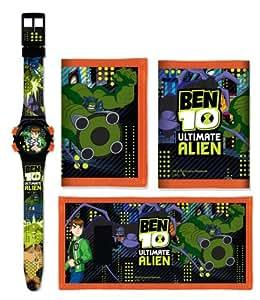 Ben 10 Jungen-Armbanduhr Digital Kunststoff mehrfarbig 25862