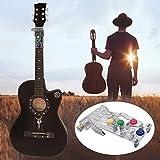 Gitarren Lernsystem Clip-On Übungswerkzeug Für Chromatische Stimmgeräte Gitarren Lehrmittel Zum Einfachen Drücken Von Tasten Und Spielen Für Anfänger Erwachsene Oder Kinder Unabhängig Vom Alter