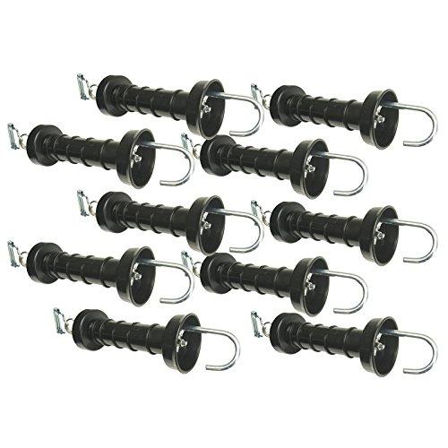 10x-poignee-portillon-compacte-avec-raccord-de-jonction-ruban-de-20-mm-pour-cloture-electrique
