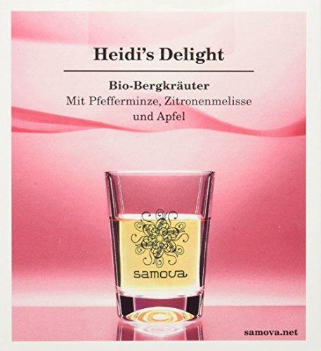 Samova Heidi's Delight Space 10er-Box, 1er Pack (1 x 20 g) - Bio
