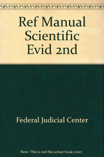 Ref Manual Scientific Evid 2nd