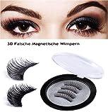 Magnetische Falsche Wimpern - Lange und Volle Augen Deckung