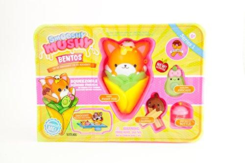 Smooshy Mushy-Plastic Bento Box-Fox Peluche, 34846