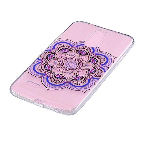Coffeetreehouse iphone 8 Coque Gel TPU Silicone Housse Étui Cover Case Souple Ajustement Parfait Très Légère Protection Ultra Mince pour iphone 8 - Mandala