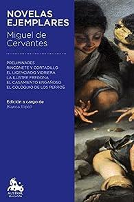 Novelas ejemplares par Miguel De Cervantes