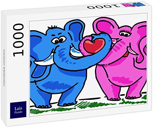 Lais Puzzle Elefante de Dibujos Animados 1000 Piezas
