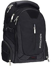 150a2df8a474 Ruschen Rucksack Herren mit ergonomischem Design, Premium Laptop Rucksäcke  für 15,6 Zoll Notebook