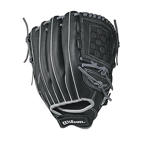Wilson A360Baseballhandschuh, Black/Gray/Basket