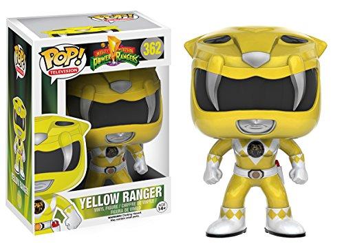 Image of Power Rangers 10310 Pop Vinyl Yellow Ranger Figure