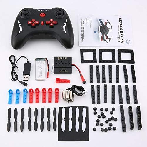 Mountxin L333 RC DIY Building Building Building Block 3D Bricks Mini Drone Quadcopter   3D Flips DIY - Black   En Vente  8d1d7e