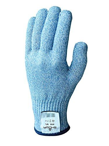 Showa Gants Bst8110-08 Best D Flex 8110 Gant, taille : 08, Bleu