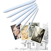 6pcs papel de arte chino limpiando la pluma, bosquejo dedicado papel borrador borrador pluma dibujo papel pluma