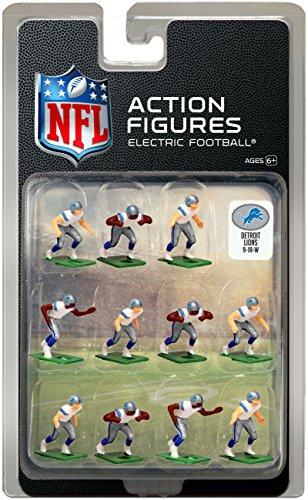 Detroit Lions?White Uniform NFL Action Figure Set by Tudor Games (Detroit Lions Uniformen)