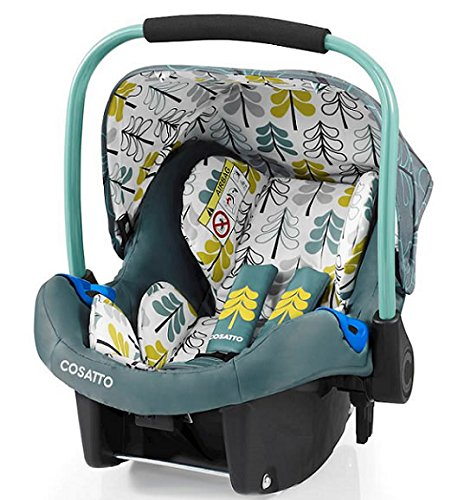 Cosatto wow Travel system with Port Isofix base Bag and footmuff (Fjord) Cosatto Includes - Pushchair, Carrycot, Port Car seat, Isofix base, Footmuff, Changing bag and Raincover Suitable from birth up to 15kg (4 years approx.) 'In or out' facing pushchair seat lets them bond with you or enjoy the view 9