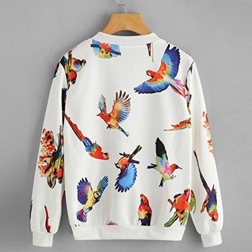 Veste De Veste ImpriméE OHQ Womens Imprimer Multicolor Bohemia Manches Longues Zipper Up Bomber Jacket Pardessus Multicolore