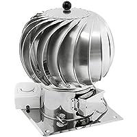 150mm in acciaio INOX rotante spinning ibrido Chimney Cowl motore elettrico tetto ulteriori (Cap Tetto Di Scarico)