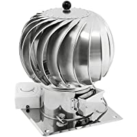150mm in acciaio INOX rotante spinning ibrido Chimney Cowl motore