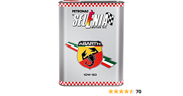 Selenia Abarth 10w50 Behälter Mit 2 Litern Auto