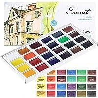 Acuarela Color de gran calidad 24 colores – Calidad de Sonnet