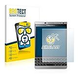 BROTECT Protector Pantalla Cristal compatible con BlackBerry Passport Silver Edition - Vidrio 9H, AirGlass