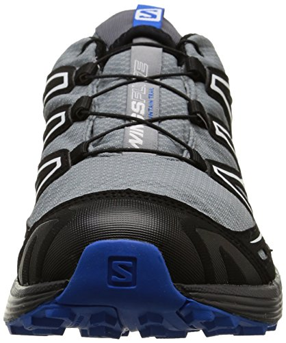 Salomon Wings Flyte Gtx, Chaussures de Trail Homme multicolore (Pearl Grey/Black/Bl)