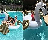 Jasonwell®Riesiger aufblasbarer Pegasus Pool Floß mit speziellen schnell Ventilen. - 6