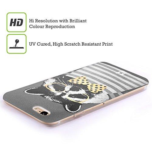 Head Case Designs Faultier Super Posh Soft Gel Hülle für Apple iPhone 6 / 6s Waschbär
