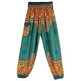 JERFER Jolis Pantalons de Mode Sarouel Femme Pantalon de Yoga Taille Haute Hock Hippy...