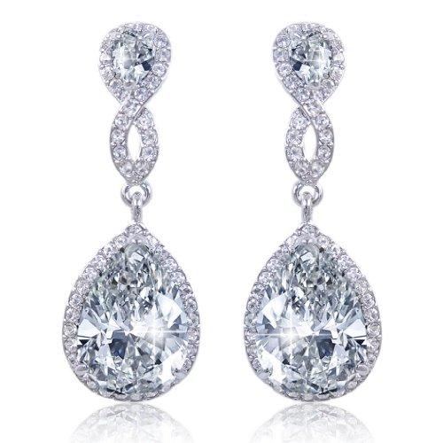 ever-faith-zircon-cristal-2-goutte-mariage-pendre-boucles-doreilles-transparent-plaque-argent-n02479